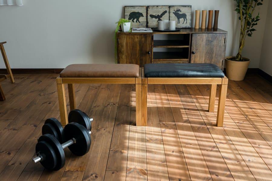 木製トレーニングベンチ