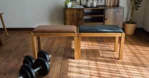 木製トレーニングベンチFource